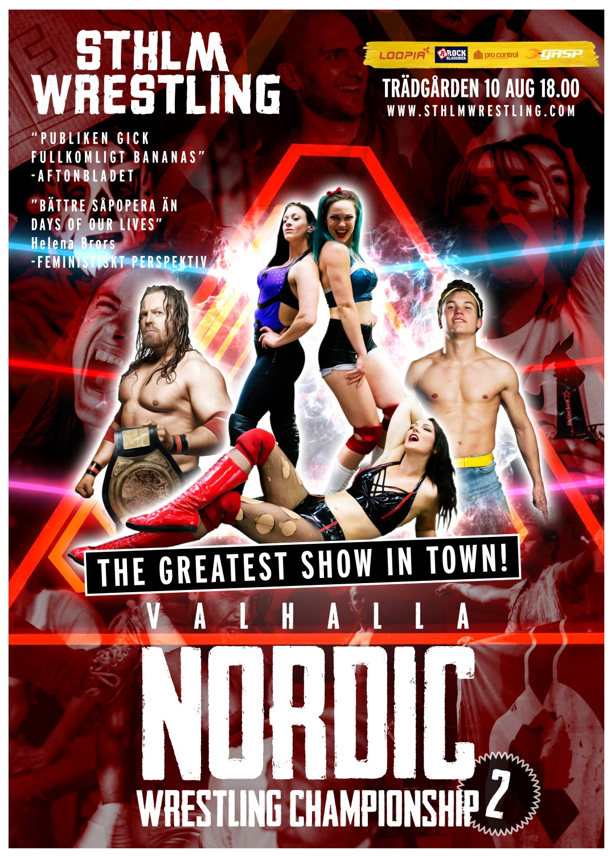 Valhalla Nordic Wrestling Championship 2!