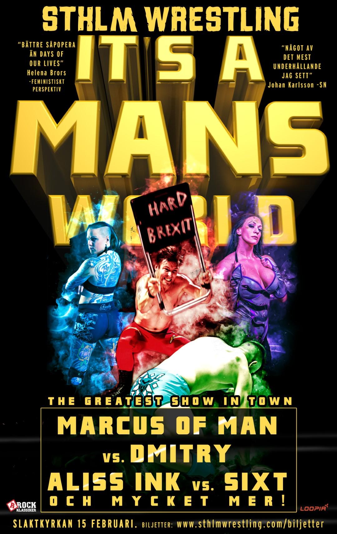 It's a mans World